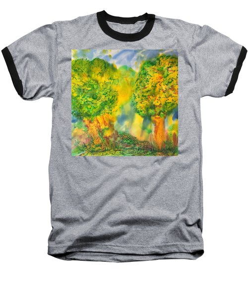 Baseball T-Shirt featuring the painting Never Give Up On Your Dreams by Susan D Moody