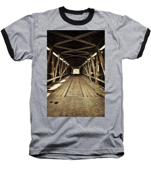 Nevins Bridge Baseball T-Shirt by Joanne Coyle
