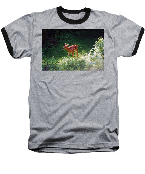 New Backyard Visitor Baseball T-Shirt