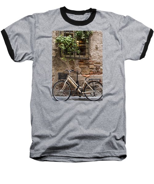 New Bike In Old Lucca Baseball T-Shirt