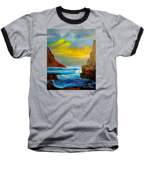 New Day In Paradise Baseball T-Shirt