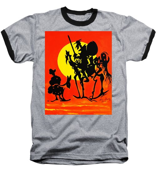 New Don Quixote Baseball T-Shirt