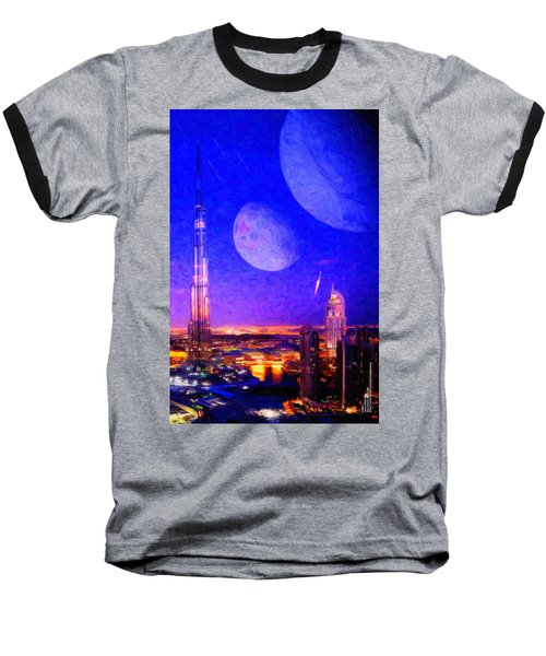 New Dubai On Tau Ceti E Baseball T-Shirt