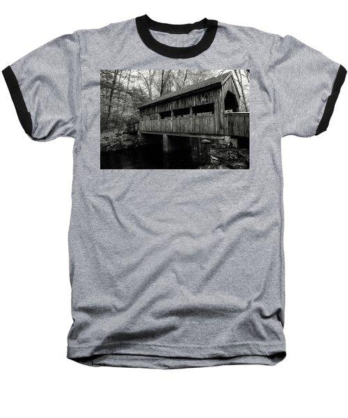New England Covered Bridge Baseball T-Shirt