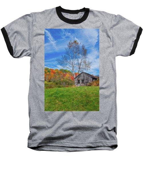 New England Fall Foliage Baseball T-Shirt