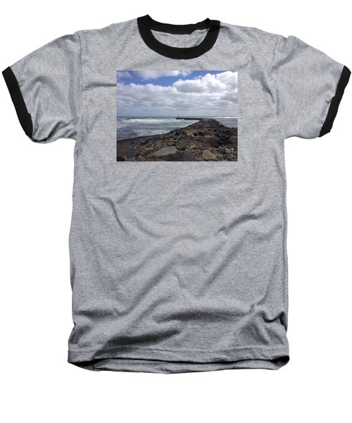 New England Jetty Baseball T-Shirt