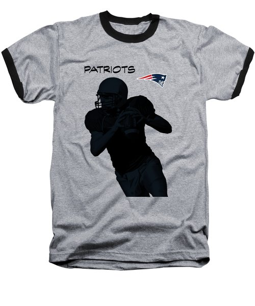 New England Patriots Football Baseball T-Shirt