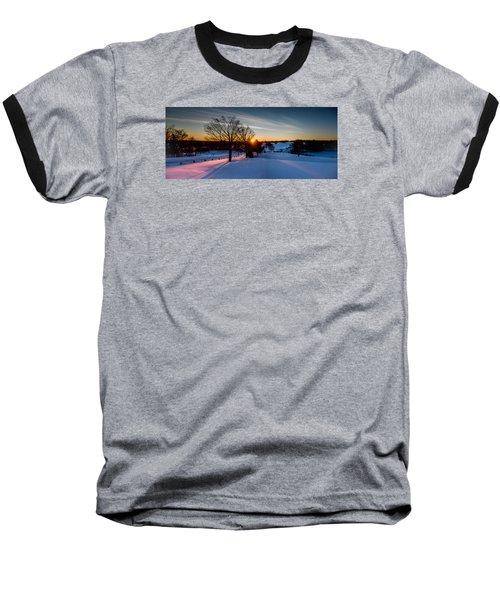 New England Sunrise Baseball T-Shirt