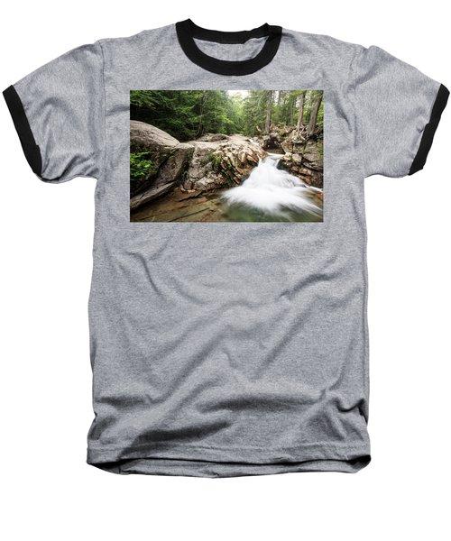 New England Waterfall Baseball T-Shirt