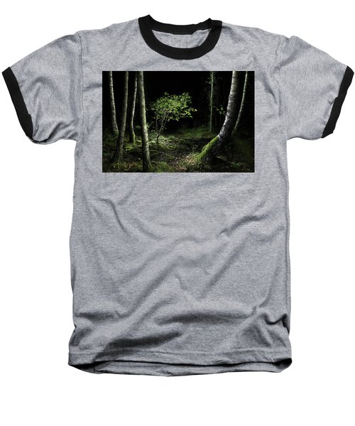 New Growth - Birch Sapling Baseball T-Shirt