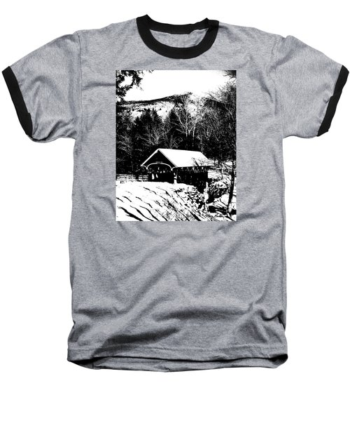 New Hampshire Covered Bridge Baseball T-Shirt