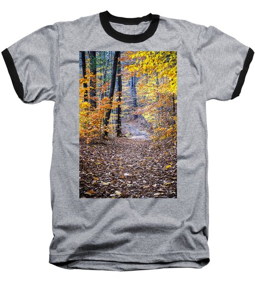 New Hampshire Woods Baseball T-Shirt