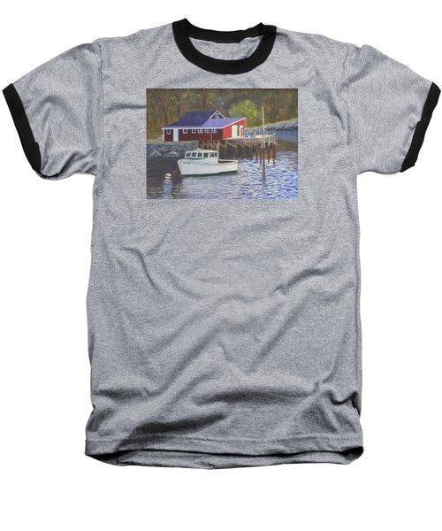 New Harbor Sunrise Baseball T-Shirt