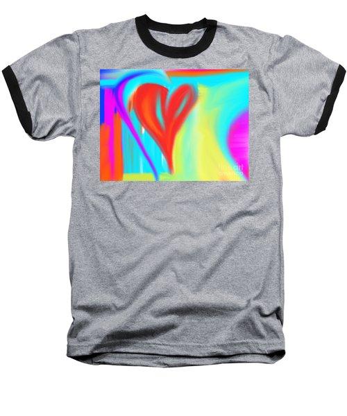New Heart Baseball T-Shirt