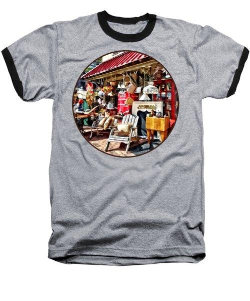 New Hope Pa Antique Shop Baseball T-Shirt