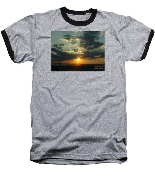 New Horizon Baseball T-Shirt by Lyric Lucas