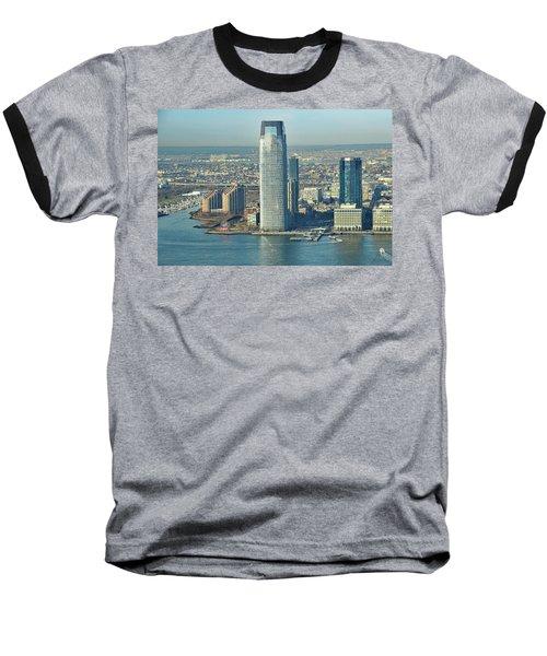 New Jersey Skyline Baseball T-Shirt