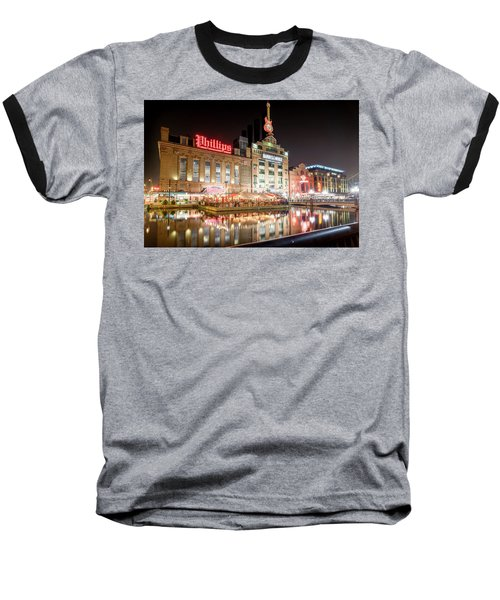 New Life Of Old Power Plant Baseball T-Shirt
