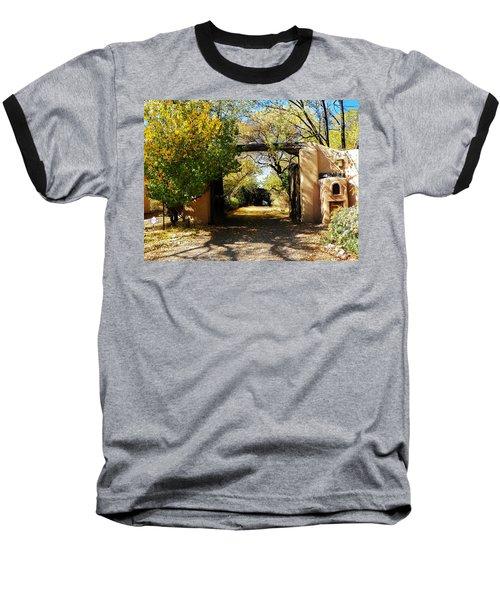 New Mexico Adobe Baseball T-Shirt