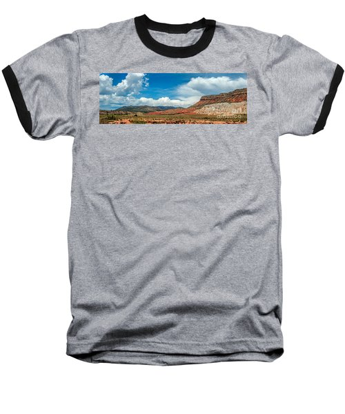 Baseball T-Shirt featuring the photograph New Mexico by Gina Savage