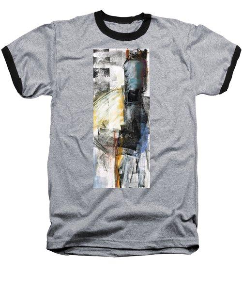 New Mexico Horse Art Baseball T-Shirt by Frances Marino