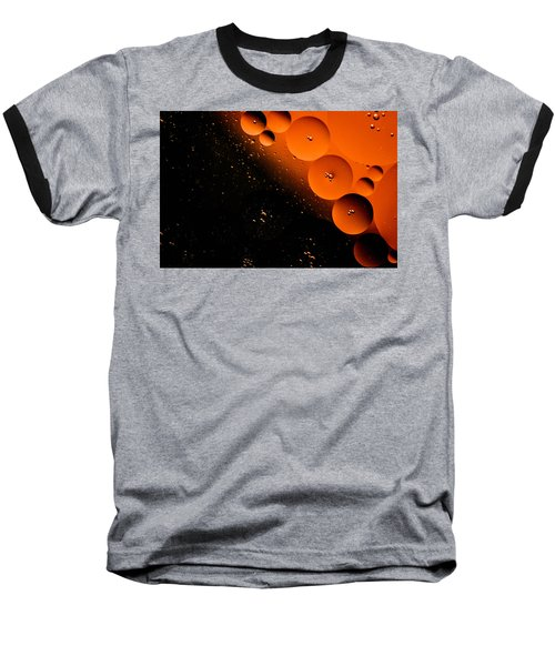 New Moon Cluster Baseball T-Shirt by Bruce Pritchett