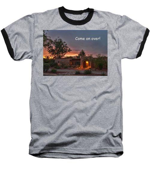 Baseball T-Shirt featuring the photograph New Neighbors Card by Dan McManus
