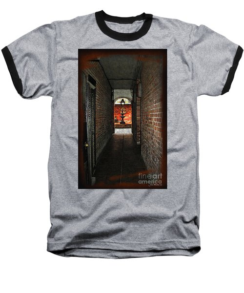 New Orleans Alley Baseball T-Shirt by Joan  Minchak
