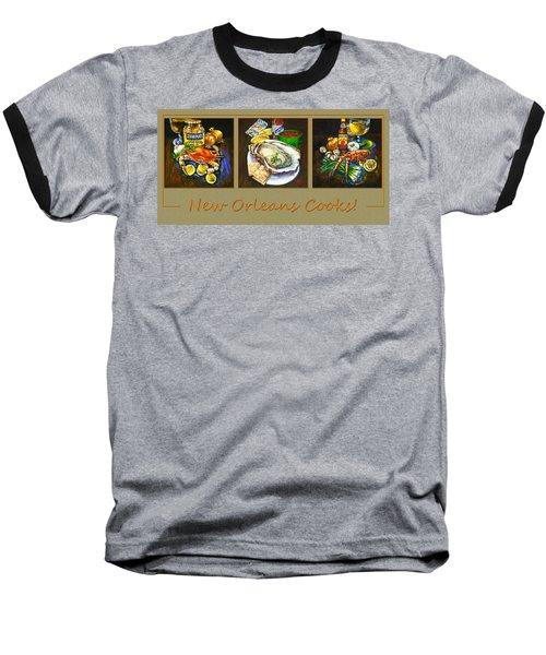 New Orleans Cooks Baseball T-Shirt
