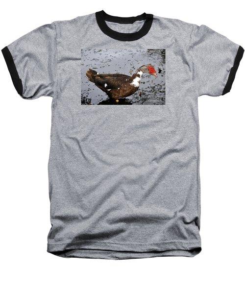 New Orleans Duck 2 Baseball T-Shirt
