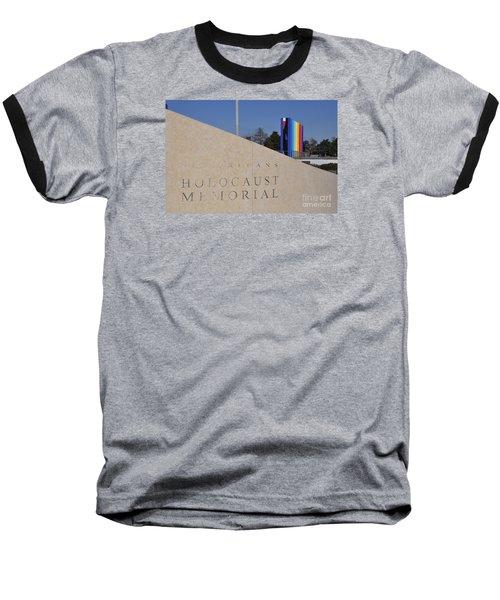 New Orleans Holocaust Memorial Baseball T-Shirt