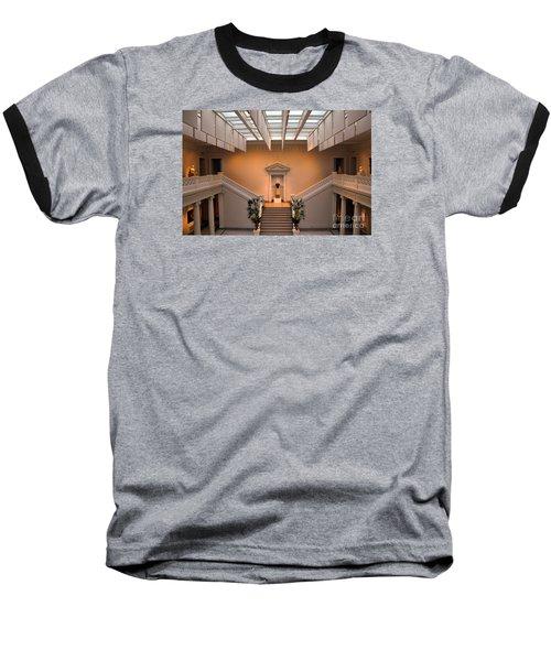 New Orleans Museum Of Art Lobby Baseball T-Shirt