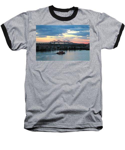 New Orleans Riverfront Baseball T-Shirt