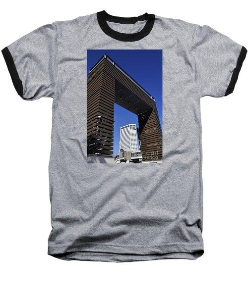 New Orleans Riverwalk Baseball T-Shirt