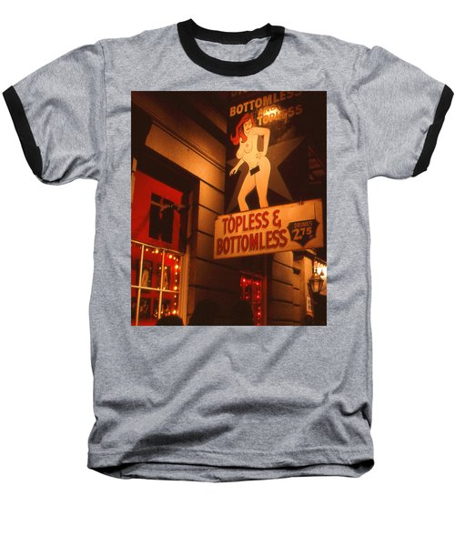 New Orleans Topless Bottomless Sexy Baseball T-Shirt