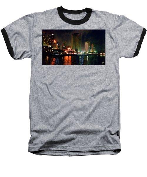 New Orleans Waterfront Baseball T-Shirt