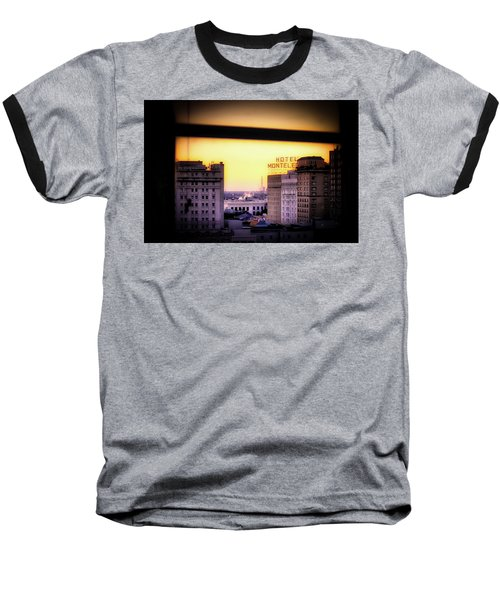 New Orleans Window Sunrise Baseball T-Shirt