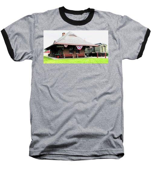 New Oxford Pennsylvania Train Station Baseball T-Shirt