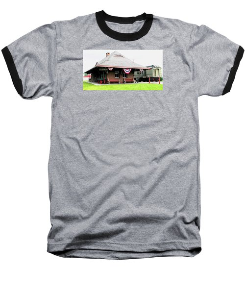 New Oxford Pennsylvania Train Station Baseball T-Shirt