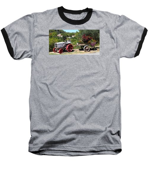 Baseball T-Shirt featuring the photograph New Pastures by Richard Patmore