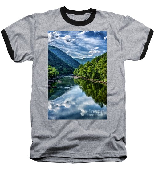New River Gorge National River 3 Baseball T-Shirt