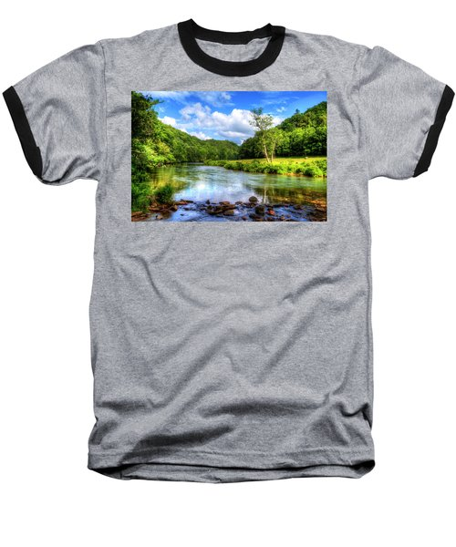 New River Summer Baseball T-Shirt by Dale R Carlson