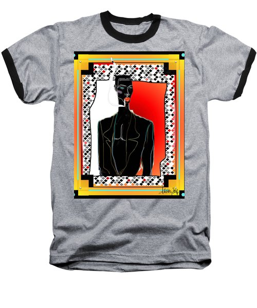 Amazing Grace Jones Baseball T-Shirt