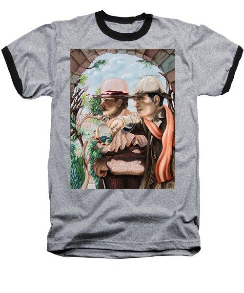New Story By Sir Arthur Conan Doyle About Sherlock Holmes Baseball T-Shirt
