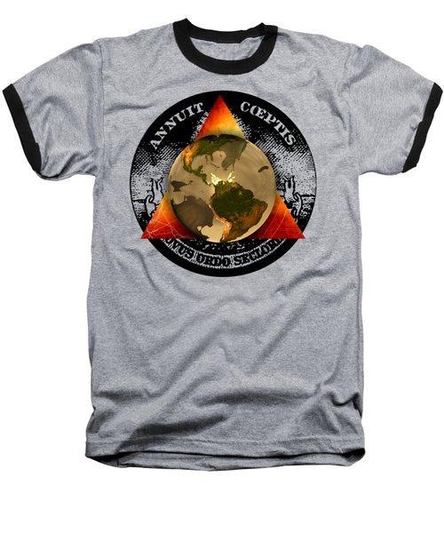 New World Order By Pierre Blanchard Baseball T-Shirt by Pierre Blanchard