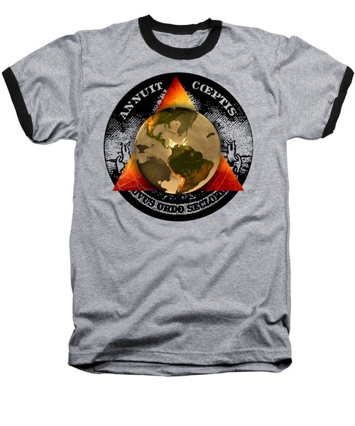 New World Order By Pierre Blanchard Baseball T-Shirt