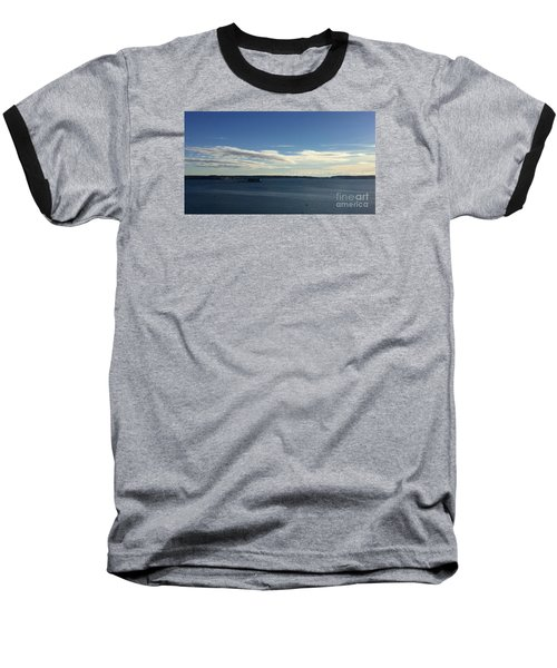 New Year's Day 2016 On Casco Bay, Portland, Maine Baseball T-Shirt by Patricia E Sundik