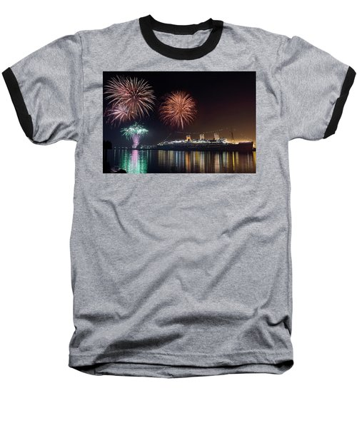 New Years With The Queen Mary Baseball T-Shirt