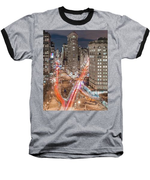 New York Big City Rush Hour Baseball T-Shirt