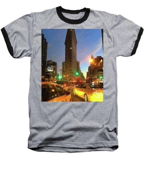 New York City Life Baseball T-Shirt